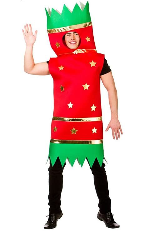 christmas cracker fancy dress costume for adults xm4575