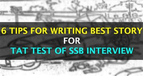 6 tips to write stories for tat pictures of ssb