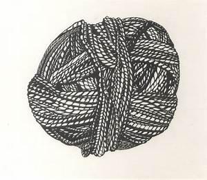 Drawing of silk yarn | Bijou Zoo