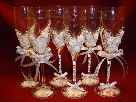 decor glass diy wedding chagne glasses wedding theme ideas wine glass decorating wineglass decoration