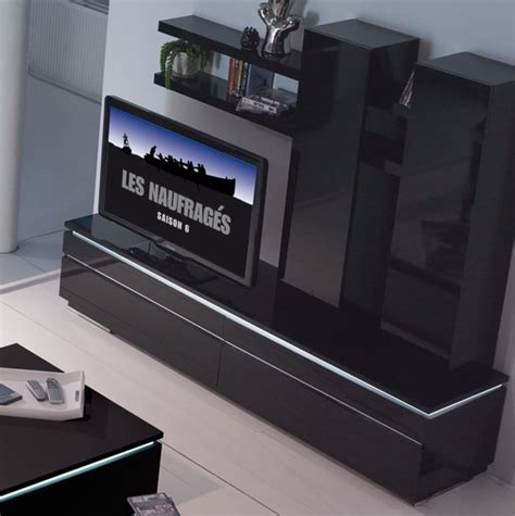 banc cuisine banc tv noir conforama photo 6 10 finition