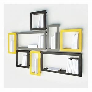 Etagere Murale Jaune : une cadre photo carton diy ~ Teatrodelosmanantiales.com Idées de Décoration