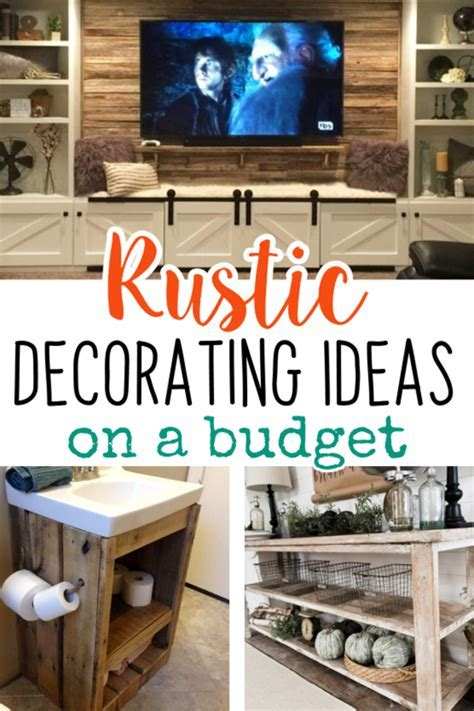 Easy DIY Rustic Home Decor Ideas on a Budget   Involvery