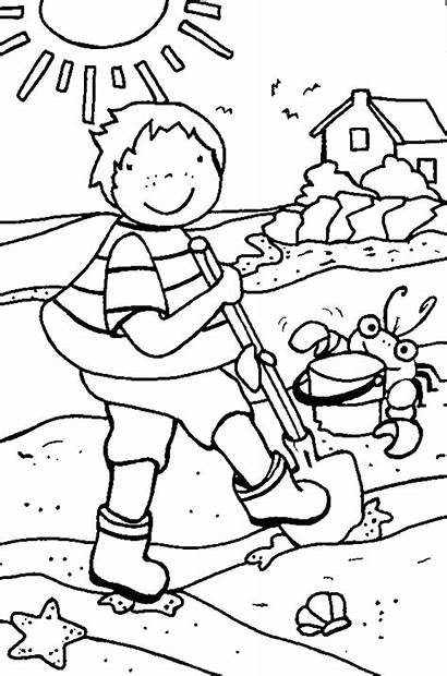 Summer Coloring Pages Holiday Coloringpages1001 Printable