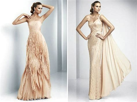 Blush Pink Full-length Pronovias Wedding Dresses With