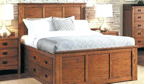 12 Drawer Storage Bed Cool Queen Platform With 6 Drawers