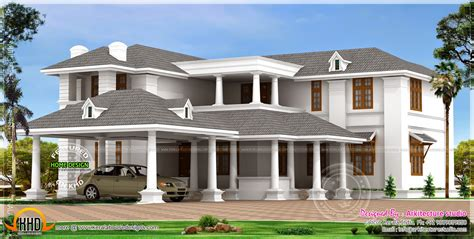 big luxury home design home kerala plans