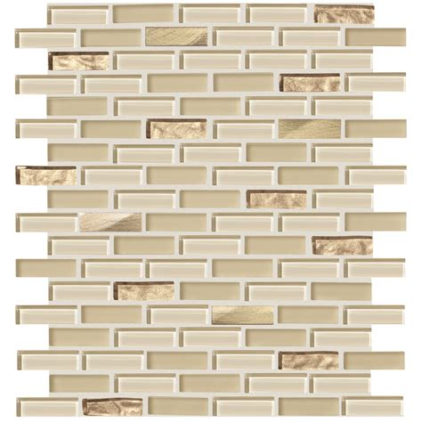 american olean glass tile backsplash shop american olean delfino glass cornsilk glass mosaic
