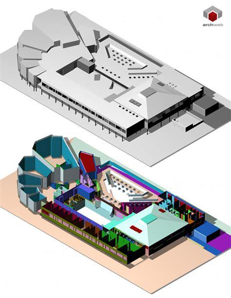 alvar aalto cultural center wolfsburg 3d