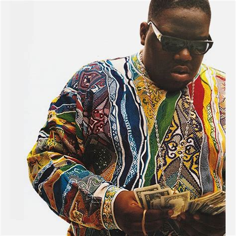 notorious big sweater release your inner biggie smalls with x coogi