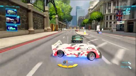 Cars 2 The Video Game 2 Wheel Slalom Gameplay Multi