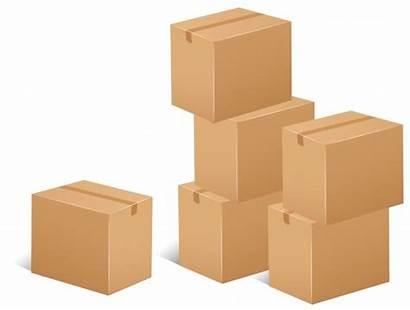 Vector Boxes Cardboard Stack Illustration Ai Edit