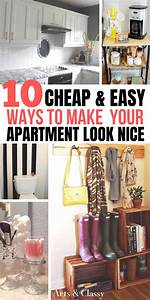 10, Smart, U0026, Cheap, Ways, To, Make, Your, Apartment, Look, Nice