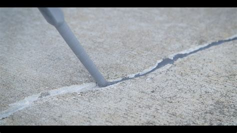 Concrete Surfaces Crack Repair   Sherwin Williams   YouTube