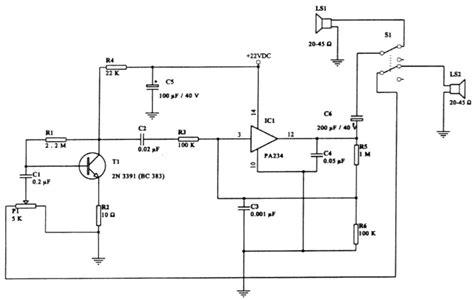 Intercommunication Intercom Circuit Diagram Instructions