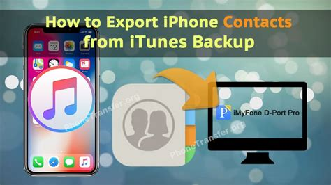 how to get contacts back on iphone how to export iphone contacts from itunes backup