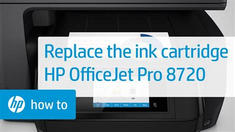 85 manuals in 36 languages available for free view and download. Replacing an Ink Cartridge in the HP OfficeJet Pro 8720 Printer | HP OfficeJet | HP - YouTube