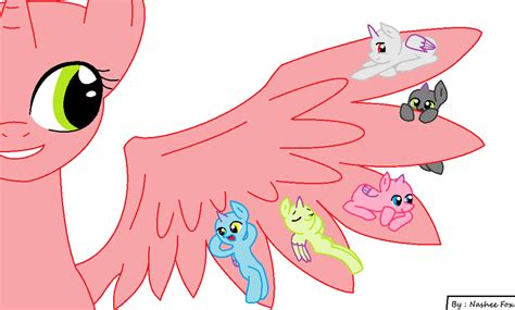 More Like My Friends Pony Base Mlp By