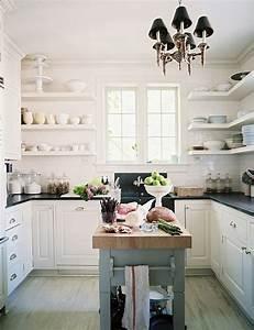 Küchen Wandregale : sch ne design ideen f r kleine k chen schicke einrichtung ~ Pilothousefishingboats.com Haus und Dekorationen