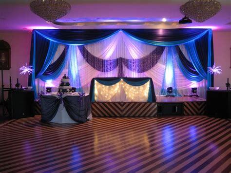 Wedding Reception Beautiful Ivory Turquiose And Purple