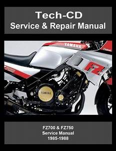 Sell Yamaha Fz700 Fz750 Service  U0026 Repair Manual Fz 700 750
