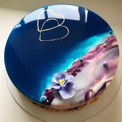 cake glaze ocean shore mirror glaze cake top 10 mirror glaze cakes mirror glaze cakes these shiny