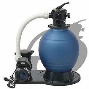 Pompe A Sable Pas Cher : acheter vidaxl pompe de filtration sable 1000 w 16800 l ~ Dailycaller-alerts.com Idées de Décoration