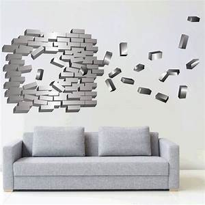 abstract brick wall decal modern wall stickers primedecals With brick wall decal