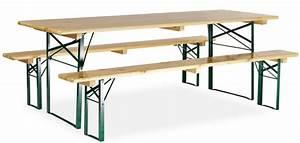 Table Bois Exterieur : table bois avec banc exterieur ~ Teatrodelosmanantiales.com Idées de Décoration