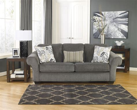 Makonnen Sofa And Loveseat by Makonnen Charcoal Sofa Sleeper 7800039