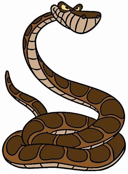 Snake Jungle Disney Clipart Kaa Clip Characters