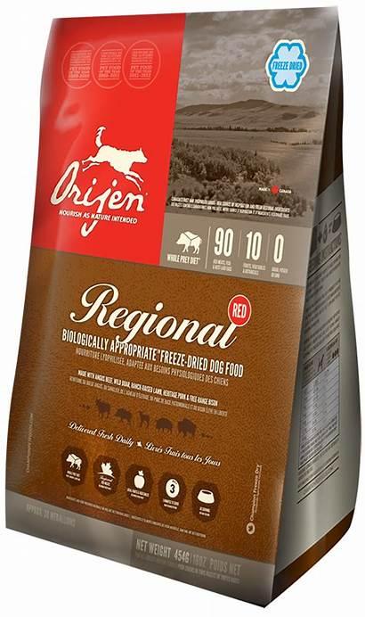 Dog Orijen Freeze Dried Regional Expensive Dry