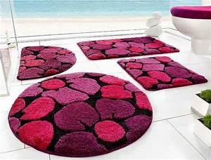 Badezimmergarnitur 3 Teilig : badezimmer garnitur pink badezimmer blog ~ Frokenaadalensverden.com Haus und Dekorationen