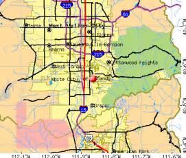 Sandy Utah Zip Code Map