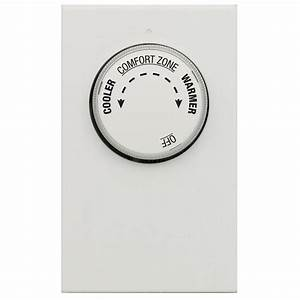 Lux Double Pole 4-wire Line Voltage Mechanical Thermostat-lv21-005