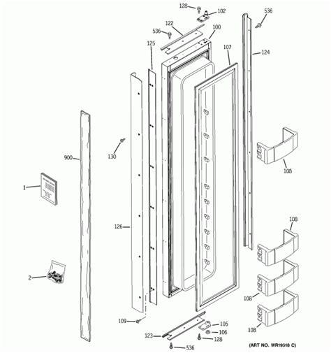 ge zisnrb refrigerator partswarehouse