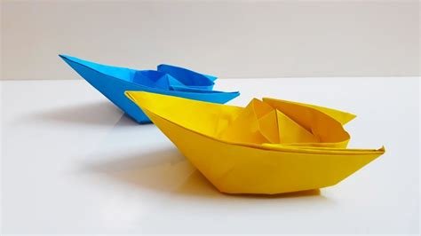Origami Boat Very Easy by Easy Origami Boat Paper Boat Making Instructions Step By