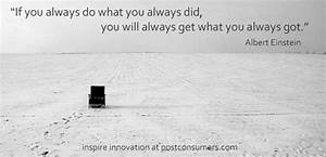Innovation Inspiration 7 Don39t Do What You Always Did