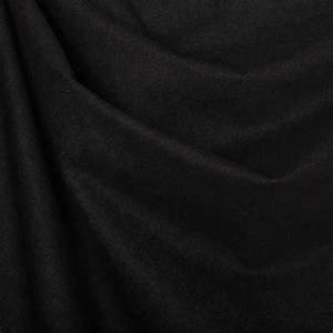 Tissu 100 Coton : tissu jean uni 100 coton noir mercerie car fil ~ Teatrodelosmanantiales.com Idées de Décoration