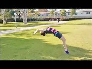 Improve your back handspring with coach Meggin! - YouTube