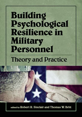building psychological resilience  military personnel