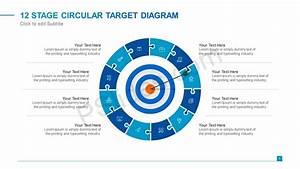 12 Stage Circular Target Diagram