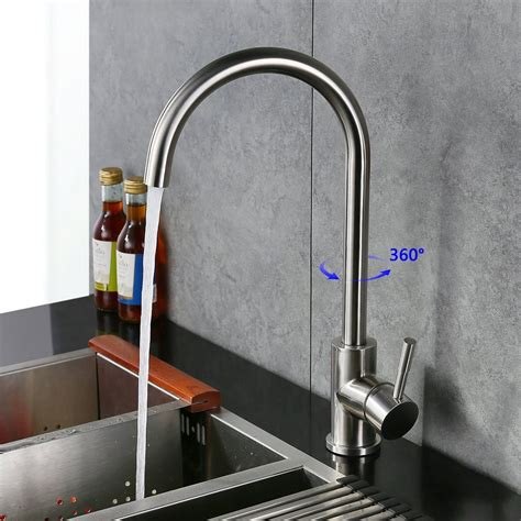 robinet design cuisine homelody robinet mitigeur cuisine en laiton