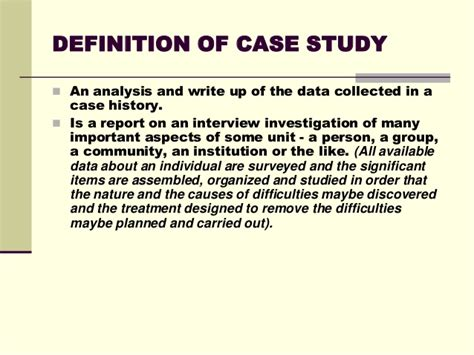 Case Study Tool For Effective Counseling