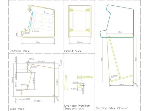 creative project arcade cabinet plans