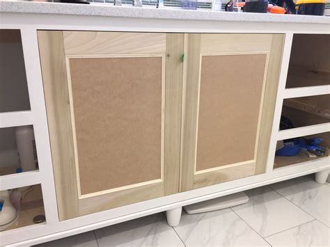 how to make cabinet doors out of mdf build a shaker style door ep 1 youtube