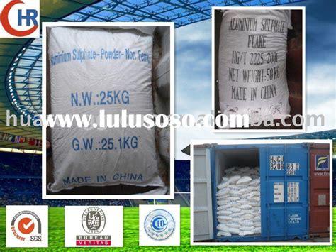 Liquid Aluminum Sulfate MSDS