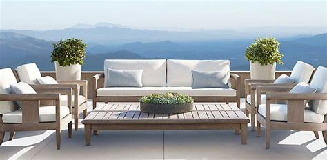 coronado weathered grey teak outdoor furniture cg