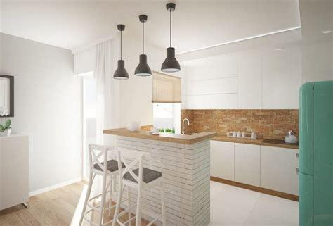 crédence en stratifié pour cuisine beau credence en stratifie pour cuisine 8 bar en brique blanche et plan de travail cuisine en