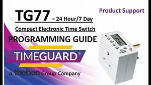 Timeguard Tg77 Programming Instructions